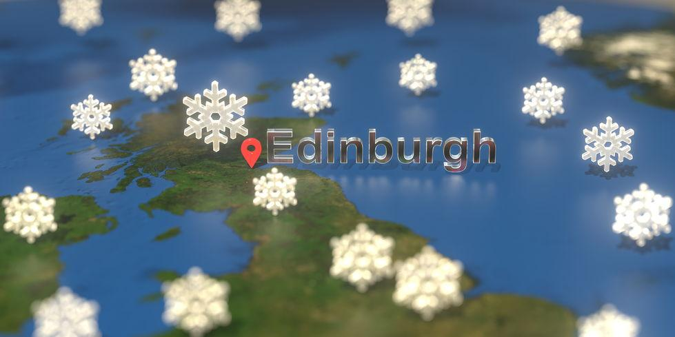 Scotland so hard-arse even its snow comes with thunder