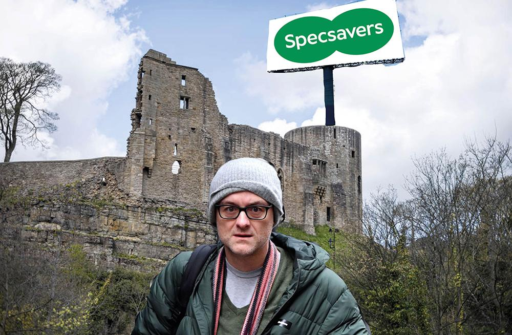 Cummings poached from Downing Street by Specsavers to work at its Barnard Castle headquarters