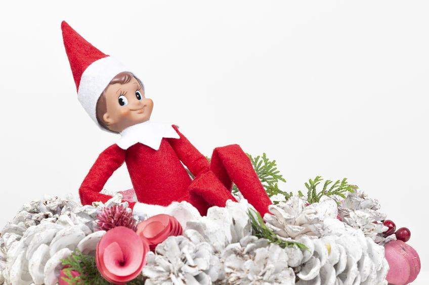 Mum has breakdown after exhausting universe's supply of ideas for where to put Elf on the fucking Shelf